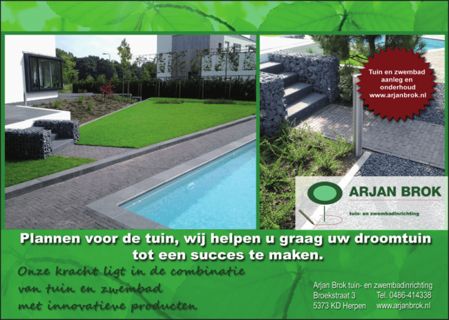 Advertentie Arjan Brok