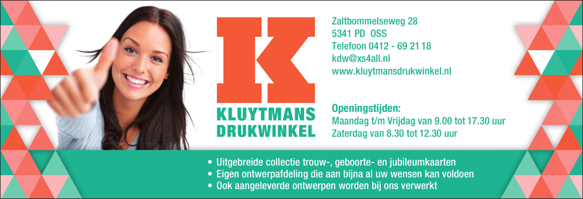 Advertentie Kluytmans